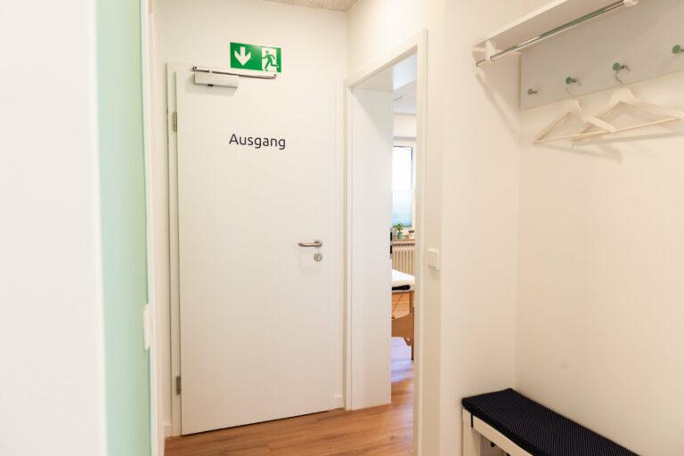 Ausgang Logopädie- und Legasthenie Praxis Sprachwelt Paderborn