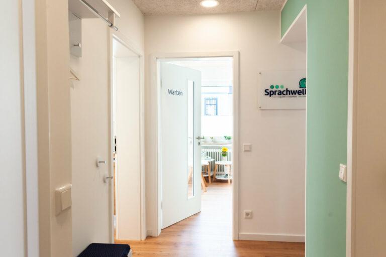 Flur in der Praxis Sprachwelt Paderborn