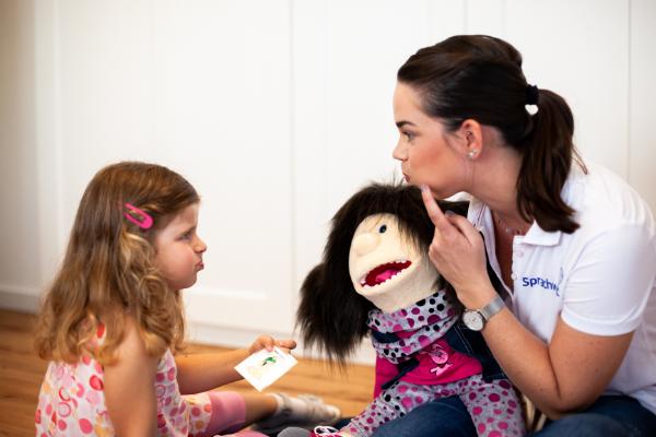 Kindertherapie - Defizite im Bereich Wortschatz und Lautbildung