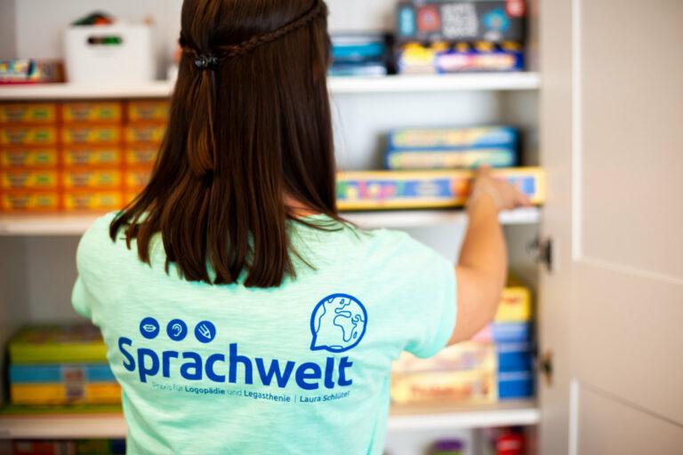 Logopädie-Übungsmaterial für Sprachtherapie in der Sprachwelt Paderborn